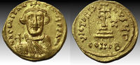 Constans II. 641-668. AV Solidus (21mm, 4.4 gm). Constantinople mint... 627,08 EUR  zzgl. 10,83 EUR Versand