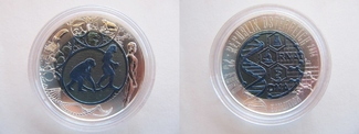 25 Euro 2014 Österreich Niob + Silber - 25...