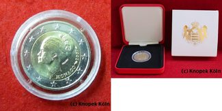 2 Euro 2007 Monaco 2 € Grace Kelly Fürstin...