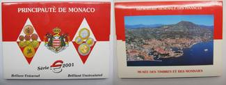 Monaco Euro KMS 2001 stgl. Original Euro K...