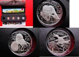 4 x 20 Euro 2013 / 2014 Österreich 20 € Si...