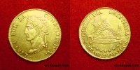 Bolivien 8 Escudos Bolivia ULTRA RARE Bolivar\'s head looks left only 6 copies worldwide!! gold coi