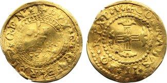 Doppie 1603 Italien-Genua Republik 1528-1797. Gold, gewellt, schön - sehr schön