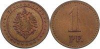 1 Pfennig  Kaiserreich  fast vorzüglich  110,00 EUR  +  4,50 EUR shipping