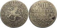 8 Skilling 1733 Norwegen Cchristian VI. 1730-1746. Revers Fleck, fast s... 150,00 EUR  zzgl. 3,50 EUR Versand