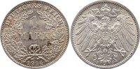 1 Mark 1914  J Kleinmünzen  vorzüglich+  7,00 EUR  zzgl. 1,00 EUR Versand