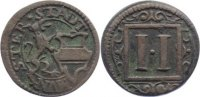Mnster, Stadt Cu 2 Pfennig 