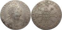 1/2 Ecu aux 8L 1704  A Frankreich Ludwig XIV. 1643-1715. fast sehr schön  145,00 EUR  +  4,50 EUR shipping