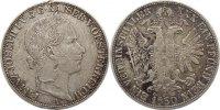 Taler 1860  A Haus Habsburg Franz Joseph I. 1848-1916. kl. Randfehler, ... 100,00 EUR  +  4,50 EUR shipping