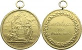 Frankreich Vergoldete Bronzemedaille 1790 ...