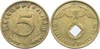 5 Reichspfennig 1936  D Drittes Reich Kursmünzen 1933-1945. sehr schön  90,00 EUR  +  4,50 EUR shipping