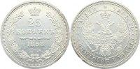 25 Kopeken 1858 Russland Alexander II. 1855-1881. kl. Randfehler, vorzü... 125,00 EUR  +  4,50 EUR shipping