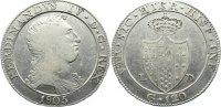 Piastra (120 Grana) 1805 Italien-Neapel und Sizilien Ferdinand IV. (2. ... 175,00 EUR  zzgl. 3,50 EUR Versand