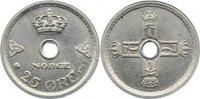 25 Öre 1 1927 Norwegen Haakon VII. 1905-1957. vorzüglich  20,00 EUR  zzgl. 3,50 EUR Versand