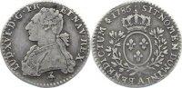 1/10 Écu 1 1786  A Frankreich Ludwig XVI. 1774-1793. sehr schön  90,00 EUR  +  4,50 EUR shipping