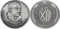 Silbermedaille 1998 Sachsen-Dresden, Stadt  mattiert, prägefrisch  35,00 EUR  zzgl. 3,50 EUR Versand