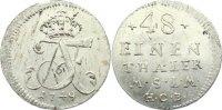 1/48 Taler 1749 Mecklenburg-Strelitz Adolph Friedrich III. 1708-1752. v... 225,00 EUR  +  4,50 EUR shipping