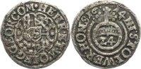 1/24 Taler 1614 Stolberg-Stolberg Heinrich XXII. und Wolfgang Georg 161... 40,00 EUR  zzgl. 3,50 EUR Versand