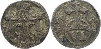 6 Pfennige 1760  FS Sachsen-Weimar-Eisenach Anna Amalia 1758-1775. selt... 75,00 EUR  +  4,50 EUR shipping