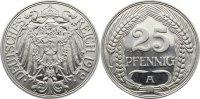 25 Pfennig 1912  A Kleinmünzen  leicht zaponiert, Polierte Platte  245,00 EUR  +  4,50 EUR shipping