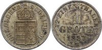 Grote 1857  B Oldenburg Nicolaus Friedrich Peter 1853-1900. fleckige Pa... 35,00 EUR