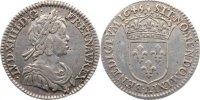 1/12 Écu à la mèche courte 164 1645  A Frankreich Ludwig XIV. 1643-1715... 110,00 EUR  +  4,50 EUR shipping