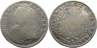 1/2 Écu aux branches d´olivier 17 1727  L Frankreich Ludwig XV. 1715-17... 75,00 EUR  +  4,50 EUR shipping