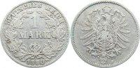 1 Mark 1880  J Kleinmünzen  schön  25,00 EUR  zzgl. 3,50 EUR Versand