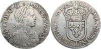 Écu a la meche longue 1 1652  I Frankreich Ludwig XIV. 1643-1715. selte... 325,00 EUR  +  4,50 EUR shipping