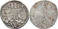 Henneberg, Grafschaft Einseitiger 3 Heller Pfennig (neufr&auml;nkis ) 15 sehr... 35,00 EUR inkl. gesetzl. MwSt., zzgl. 3,50 EUR Versand