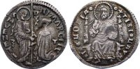 Italien-Venedig Marcello o mezza lira  1473-1474 Avers Druckstelle, sehr... 195,00 EUR 