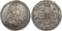 Russland Rubel 1728 sehr sch&ouml;n Peter II. 1727-1730. 1100,00 EUR 