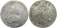Russland Rubel 1743 fast sehr sch&ouml;n Elisabeth I. 1741-1761. 375,00 EUR 