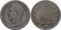 Frankreich Franc 1828 M fast sehr sch&ouml;n Karl X. 1824-1830. 150,00 EUR 