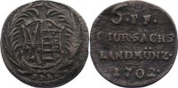 Sachsen-Albertinische Linie 6 Pfennig 1702 fast sehr sch&ouml;n Friedrich Aug... 35,00 EUR inkl. gesetzl. MwSt., zzgl. 3,50 EUR Versand