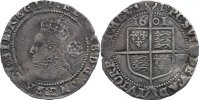 Gro&szlig;britannien Sixpence 1601 fast sehr sch&ouml;n Elisabeth I. 1558-1603. 145,00 EUR 
