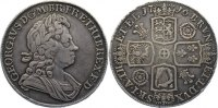 Gro&szlig;britannien Crown 1716 sehr sch&ouml;n George I. 1714-1727. 1250,00 EUR 