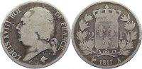 2 Francs 1817  A Frankreich Ludwig XVIII. 1814, 1815-1824. schön  80,00 EUR  zzgl. 3,50 EUR Versand
