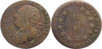 Cu 12 Deniers 1792  B Frankreich Ludwig XVI. 1774-1793. schön +  25,00 EUR