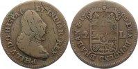 2 Liards 1709 Niederlande-Spanische Niederlande  selten, Schrötlingsfeh... 70,00 EUR  zzgl. 3,50 EUR Versand