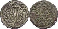 Kipper - Einseitiger Pfennig 1621 Sachsen-Albertinische Linie Johann Ge... 495,00 EUR free shipping