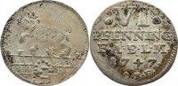 6 Pfennig 1747 Anhalt-Bernburg Victor Friedrich 1721-1765. selten, fast... 100,00 EUR  zzgl. 3,50 EUR Versand