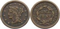 Cu 1 Cent 1848 USA  sehr schön  30,00 EUR  zzgl. 3,50 EUR Versand
