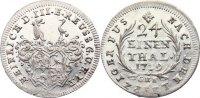 1/24 Taler 1739 Reuss, ältere Linie zu Obergreiz Heinrich XI. 1723-1800... 150,00 EUR  +  4,50 EUR shipping