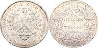Doppeltaler 1844 Frankfurt, Stadt  winz. Randfehler, kl. Kratzer, vorzü... 495,00 EUR free shipping
