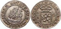 1/8 Gulden 1802 Niederlande-Batavische Republik  vorzüglich  175,00 EUR  zzgl. 3,50 EUR Versand