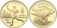 5 Dollar 1995  W USA  Gold, Polierte Platte  345,00 EUR  +  4,50 EUR shipping