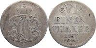 1/6 Taler 1757  NM Trier, Erzbistum Johann Philipp von Walderdorff 1756... 95,00 EUR  +  4,50 EUR shipping