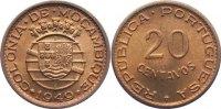20 Centavos 1949 Mosambik portugisische Kolonie bis 1975. Stempelglanz  15,00 EUR  zzgl. 1,00 EUR Versand
