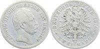 2 Mark 1876  H Hessen Ludwig III. 1848-1877. schön  200,00 EUR  +  4,50 EUR shipping